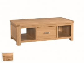 Treviso Solid Oak Large Coffee Table