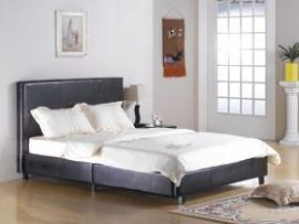 Fusion Pu Leather Kingsize Bed Frame