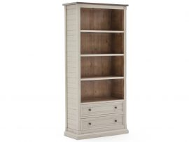 Vida Living Croft Solid Pine Large Bookcase