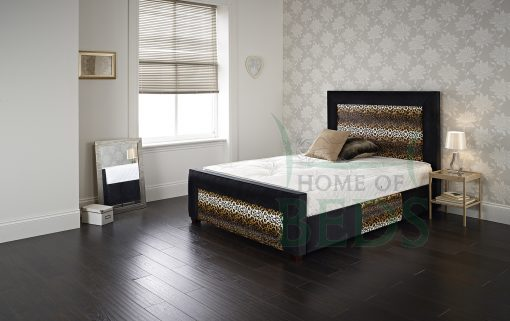 Home Of Beds Jaguar Small Double Fabric Bed Frame