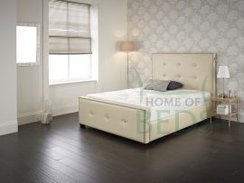 Home Of Beds Temptation Super Kingsize Leather Bed Frame Main