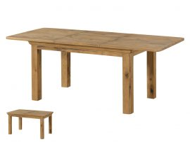 Annaghmore Lyon French Oak 140cm Extension Dining Table