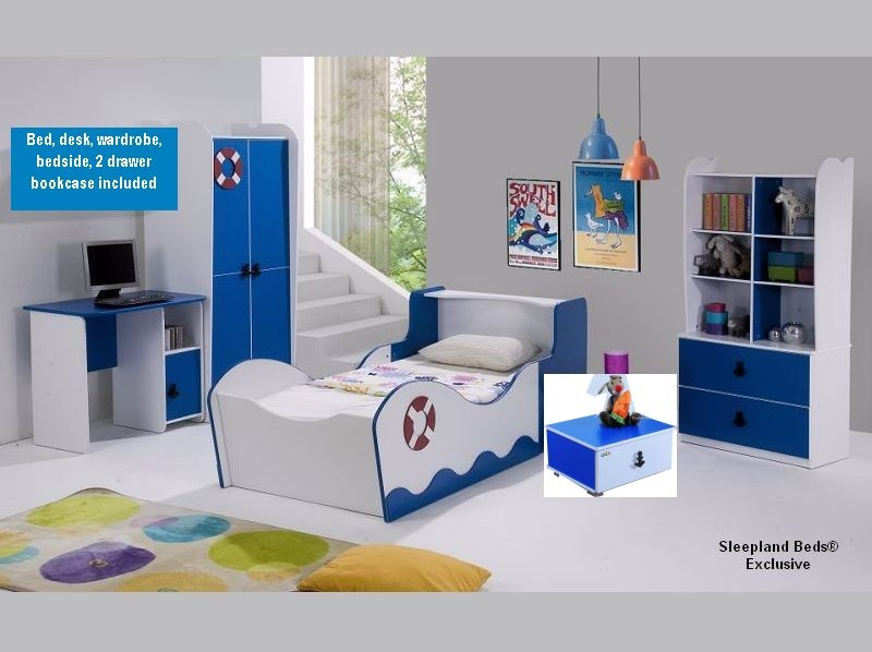 Children S Sailor 5 Piece Bedroom Set Sweet Dream Makers