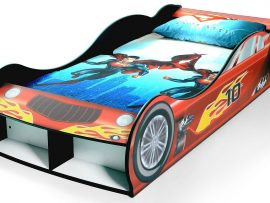 Rosso Red Car Bed